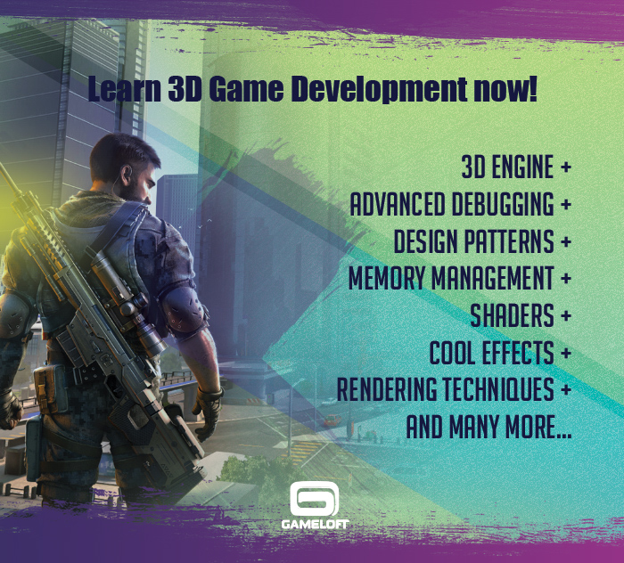 Learn 3D Game Development now!